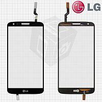 Touchscreen (сенсорный экран) для LG Optimus G2 D800 / D801 / D805, черный, оригинал