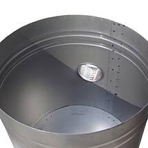 Буржуйка на опилках KOZA, из толстого стального листа, фото 3