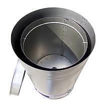 Буржуйка на опилках KOZA, из толстого стального листа, фото 2