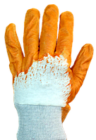 Перчатки нитрил, неполная заливка (уп. - 12 пар)
