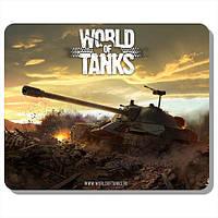 """Качественный коврик для мыши с нанесением """"Мир танков"""", """"World of Tanks"""""""