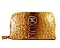 Косметичка женская кожаная Chanel  912 коричневая, расцветки в наличии