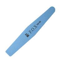 Баф F. O. X Х 180/180 (блакитний) для натуральних нігтів