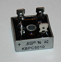 Диодный мост KBPC 5010 (50А, 1000В)