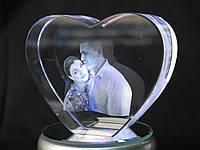 Кристалл-K16 (10x8x3,5 см) 2D и 3D с Вашим фото