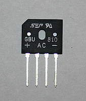 Диодный мост GBU810 (8A;1000V)