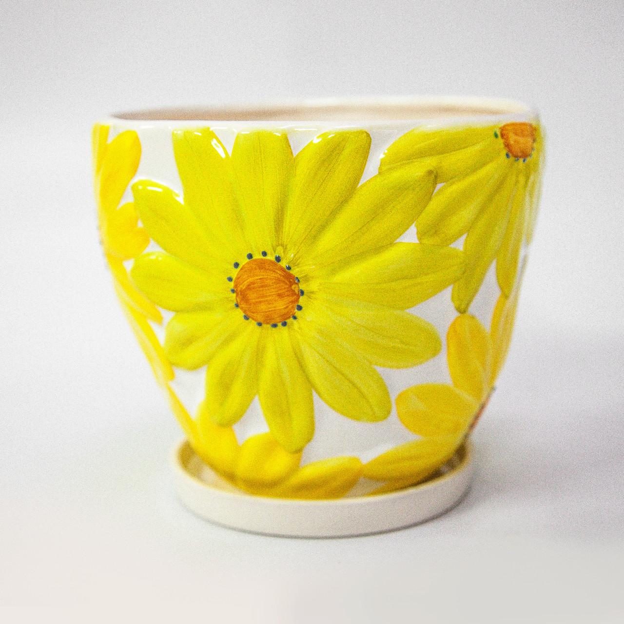 Горшок керамический для пересадки цветов P213