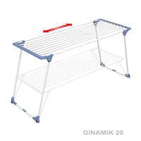 Сушилка для белья напольная раздвижная Dinamik 20, Gimi (Италия)