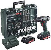 Аккумуляторный шуруповерт Metabo BS 18 Mobile Workshop
