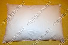 Подушка 40х60 лебяжий пух, чехол тик, фото 3