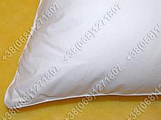 Подушка 40х60 лебяжий пух, чехол тик, фото 2