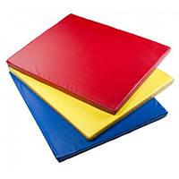 Детский мат 8ка спортивный (80*120см) разные цвета