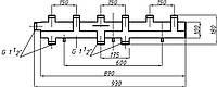 Коллектор однобалочный (150) на 3+1 выход