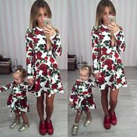 Женское нарядное Платье  DG короткое красное