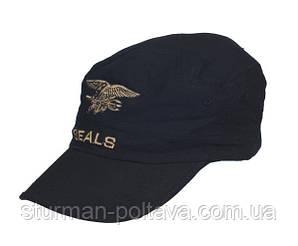 Кепка SEALS  черная  (Mil-Tec)