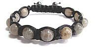 Мужской браслет шамбала из Лабрадора