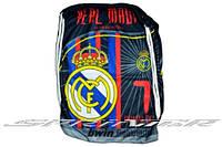 Сумка-рюкзак с логотипами клубов.