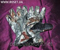 Перчатки зимние флисовые Fisherman
