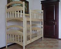 """Кровать двухъярусная """"Карина Люкс"""" деревянная в наличии"""