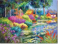 Полноцветная печать на стекле и покраска стекла