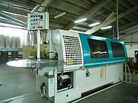 Griggio GB4/8 бу кромкооблицовочный станок проходной, облицовка ДСП до 60 мм; 2008г., фото 1