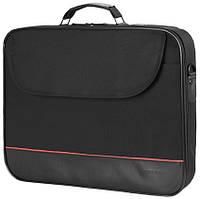 """Continent 15.4 """"Computer Bag (CC-100) черная, нейлон, 400х290x50 мм"""