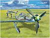 Сборная модель самолета Focke-Wulf 190D-13  1\48      HOBBY BOSS