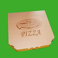Коробка для пиццы со стандартной печатью