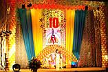 Оформлення повітряними і гелієвими кульками театральних сцен і відкритих майданчиків, фото 4