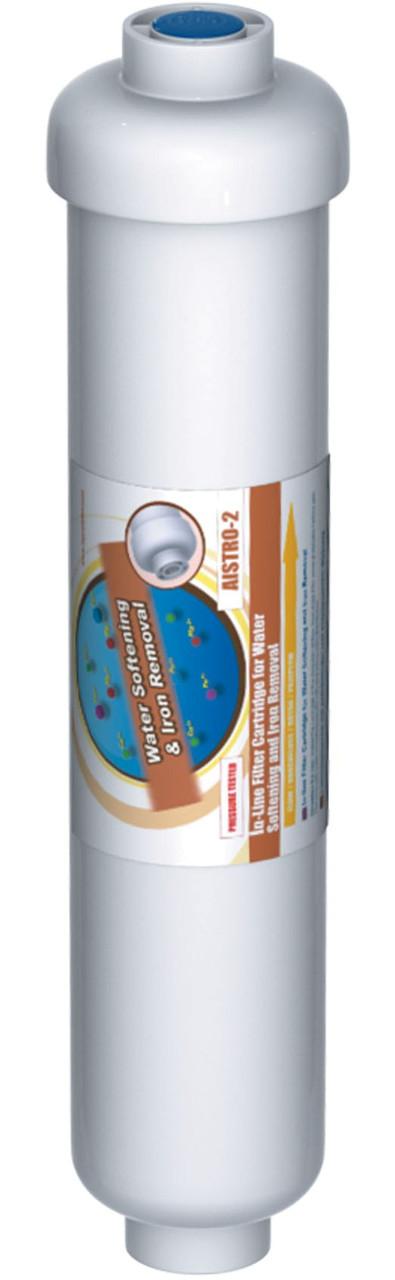 Линейный комбинированный картридж Aquafilter AISTRO-2 (умягчение + обезжелезивание)