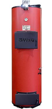 Твердотопливные дровяные котлы отопления длительного горения SWaG 40