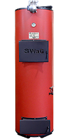 Твердотопливные дровяные котлы отопления длительного горения SWaG 40, фото 1