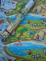 Детский игровой коврик теплый пол мультики 2000*1200мм!