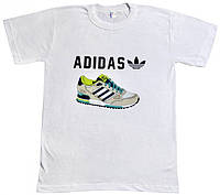 Футболка Adidas ZX-750 белого цвета , фото 1
