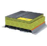 Утеплитель в плитах из минеральной (базальтовой) ваты ТЕХНОРУФ В
