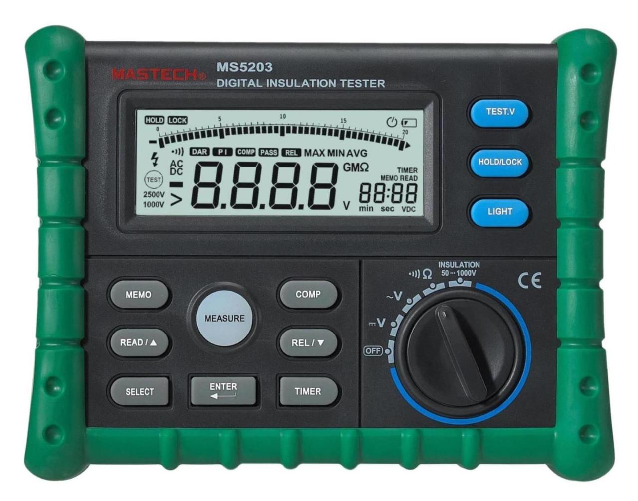 Мегаомметр MASTECH MS5203
