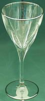 Набор бокалов для вина, декорированный платиной