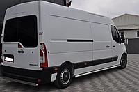 Пороги Опель Мовано / Opel Movano 2010 - кор. база