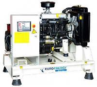 Дизельный генератор, электростанция  EuroEnergy мощностью 55кВА