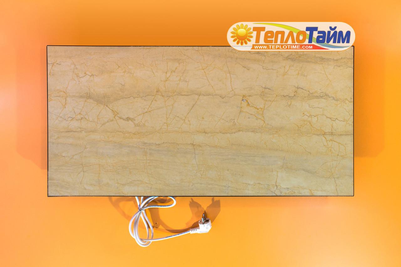 Керамічний обігрівач TEPLOCERAMIC ТСМ 450 бежевий мармур (49733), (керамический обогреватель Теплокерамик)