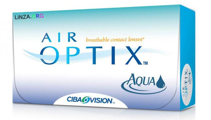 Контактная линза Air Optix Aqua 3 линзы