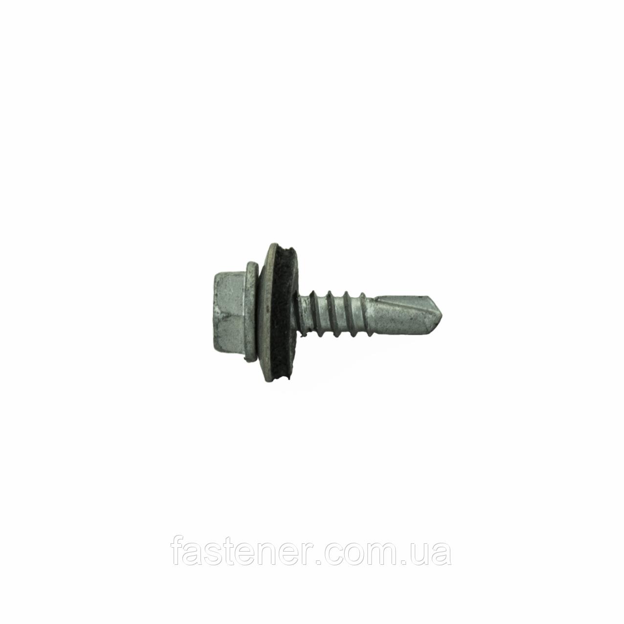 Саморез для профнастила Impax 4,8х19 с шайбой EPDM св.1,5-3,5 мм, с покр.Corrseal, уп-250 шт,ESSVE