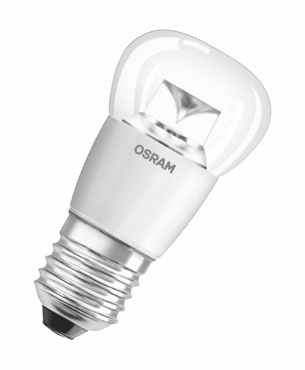 Светодиодная LED лампа OSRAM Star P40 Е27 6W, 470lm, 2700K, прозрачная колба, светодиодная