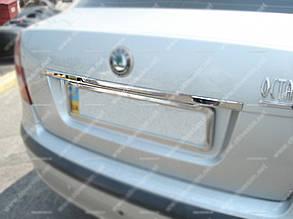 Накладка на дверь багажника Skoda Octavia A5 (2004-2009)