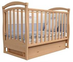 Детская кроватка Соня ЛД-6 с маятником