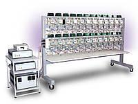 Установка регулировки и поверки потока разнотипных 1-о фазных счетчиков  2H110 (2H111)