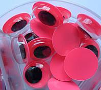 Глазки розовые для игрушек, 7 и 10 мм