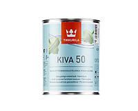 Лак акриловый TIKKURILA KIVA 50 мебельный, полуглянцевый, 0,9л
