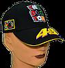 Бейсболка с яркими логотипами VR 46 Чёрная