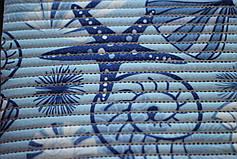 Коврик для ванной Морские звезды  ширина 65 см, фото 2